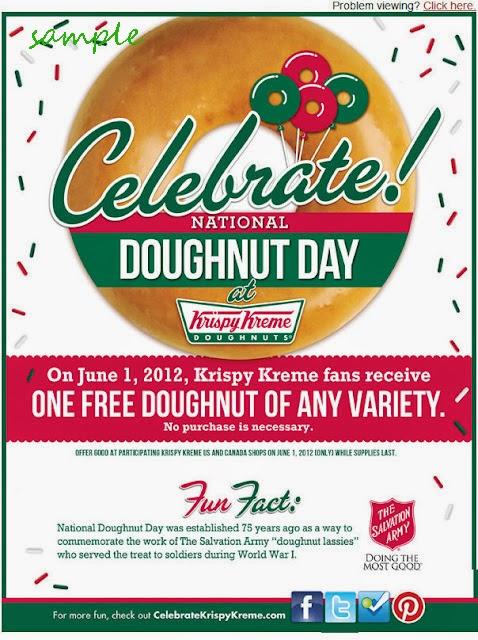 Free Birthday Krispy Kreme ~ Krispy kreme coupons december