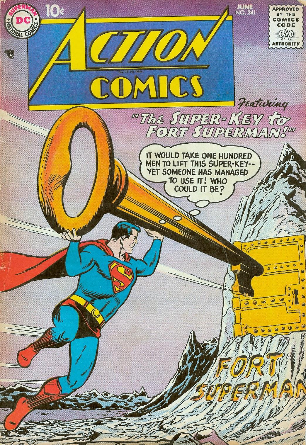 Action Comics (1938) 241 Page 1