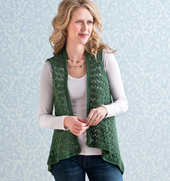 EASY CROCHET VEST PATTERNS Crochet Projects