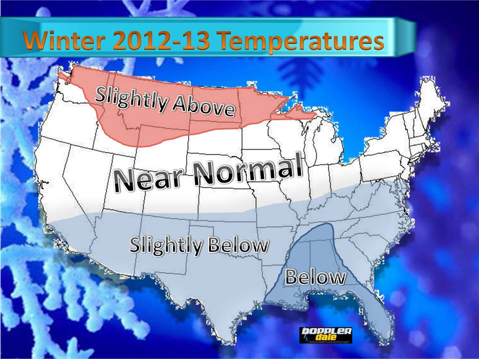 Preliminary Winter 2012-2013 Outlook