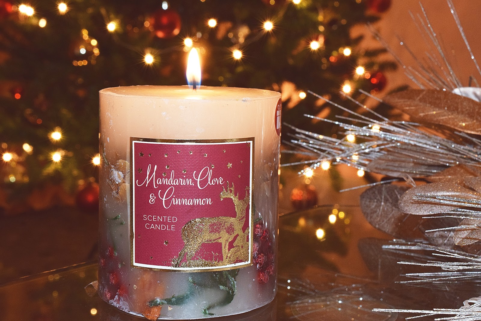 Mandarin, Clove & Cinnamon Scented Candle