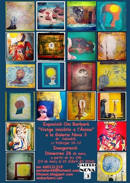 Exposición en la Galeria Nova 3 de Sabadell