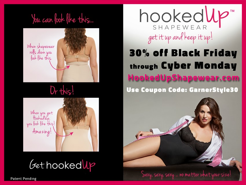 Black Friday, HookedUp Shapewear, shapewear