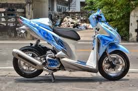 Modifikasi Honda Click 125