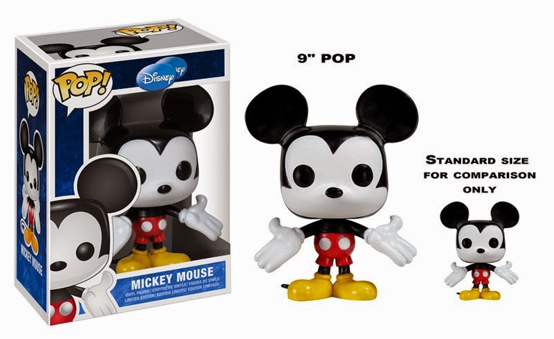 "Mickey Mouse 9"" Funko Pop!"