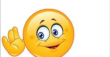 Listening Emoticon Stock Vector - Image: 40231583
