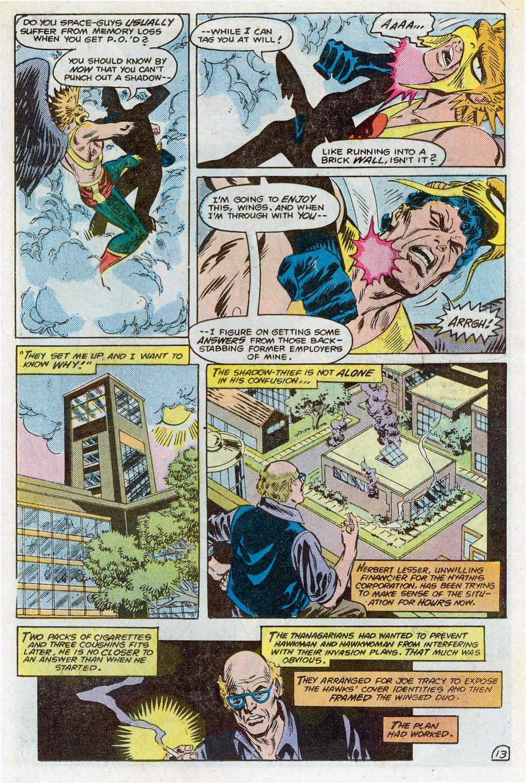 Hawkman (1986) Issue #3 #3 - English 16