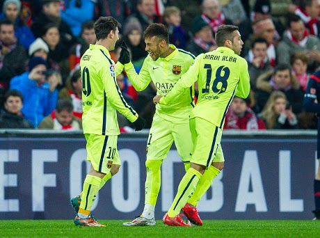 Barcelona Pesta Gol Ke Gawang Athletic Bilbao
