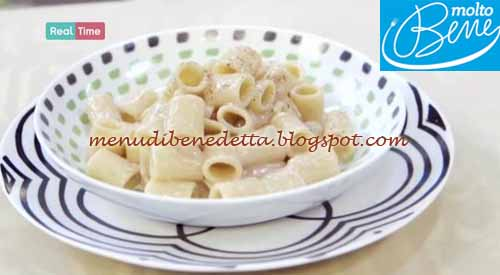 Pasta cacio e pepe ricetta Benedetta Parodi per Molto Bene