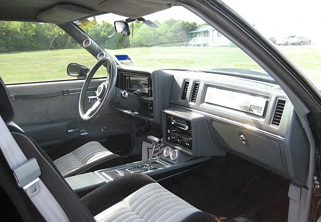 The hottest muscle cars in the world 1985 1987 buick - 1987 buick grand national interior ...