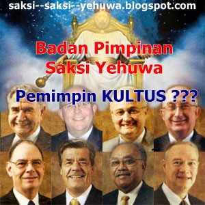 menara pengawal Saksi Yehuwa kultus