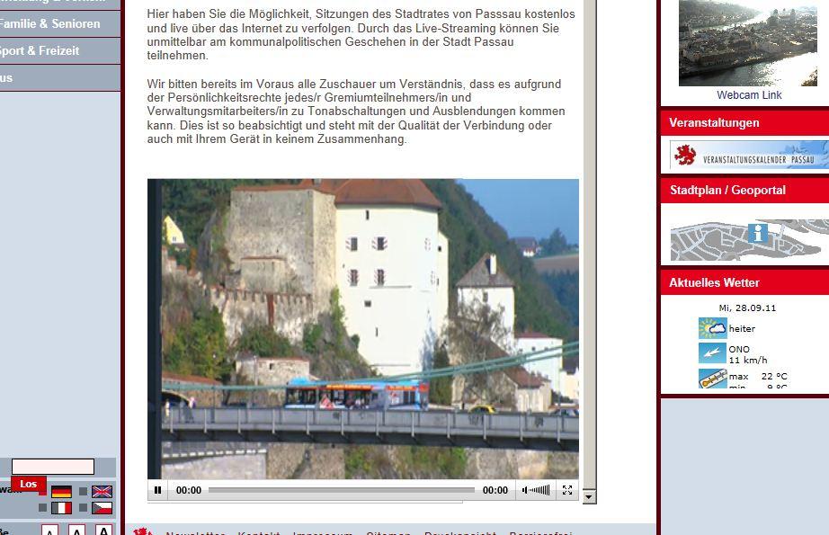 Dirne Vilshofen an der Donau