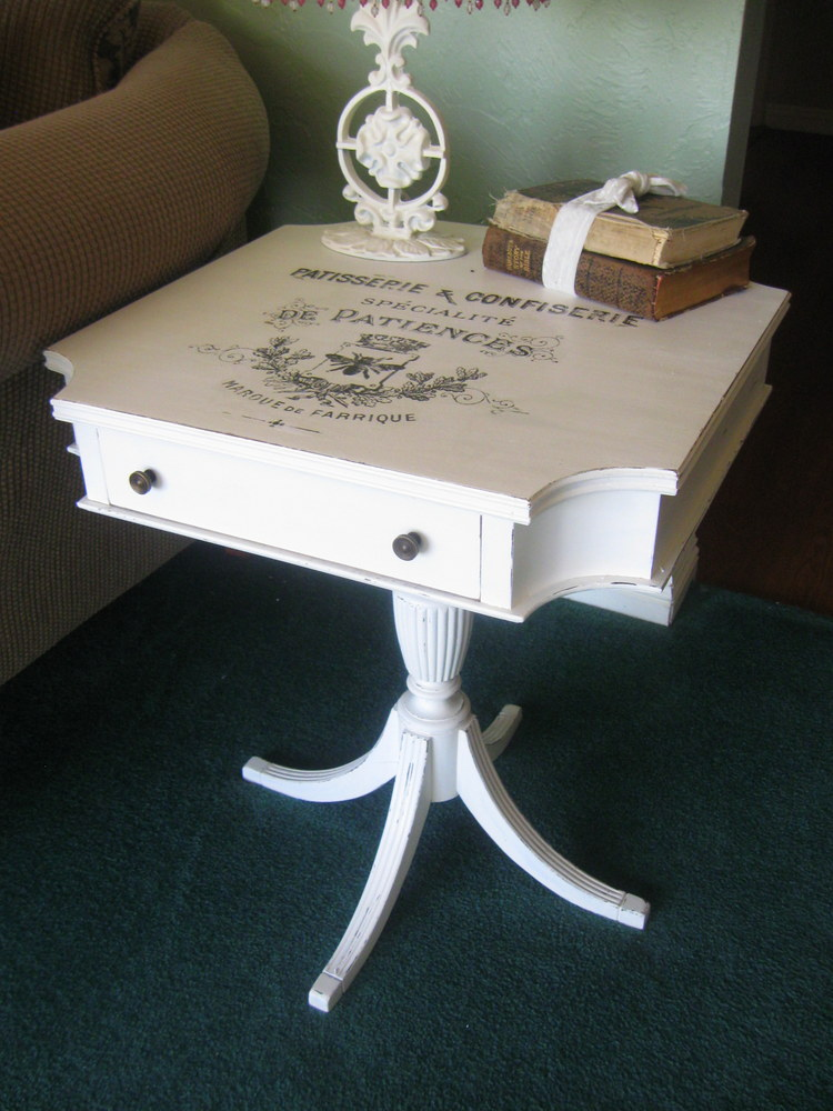 Something special french transfers and more whites for Furniture transfers