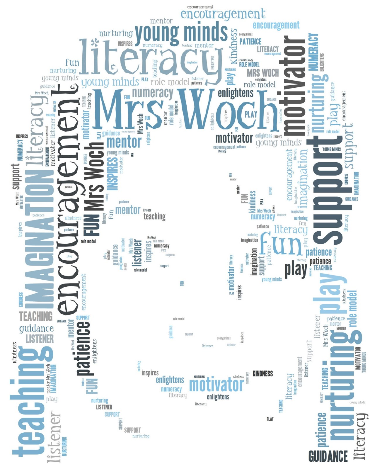 Tagxedo teacher appreciation card craft me happy tagxedo teacher its maisies last day of school tomorrow and as usual ive left it until the last minute to think about thank you gifts and cards for the teachers and publicscrutiny Choice Image