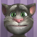 Talking Tom Cat Hallowen