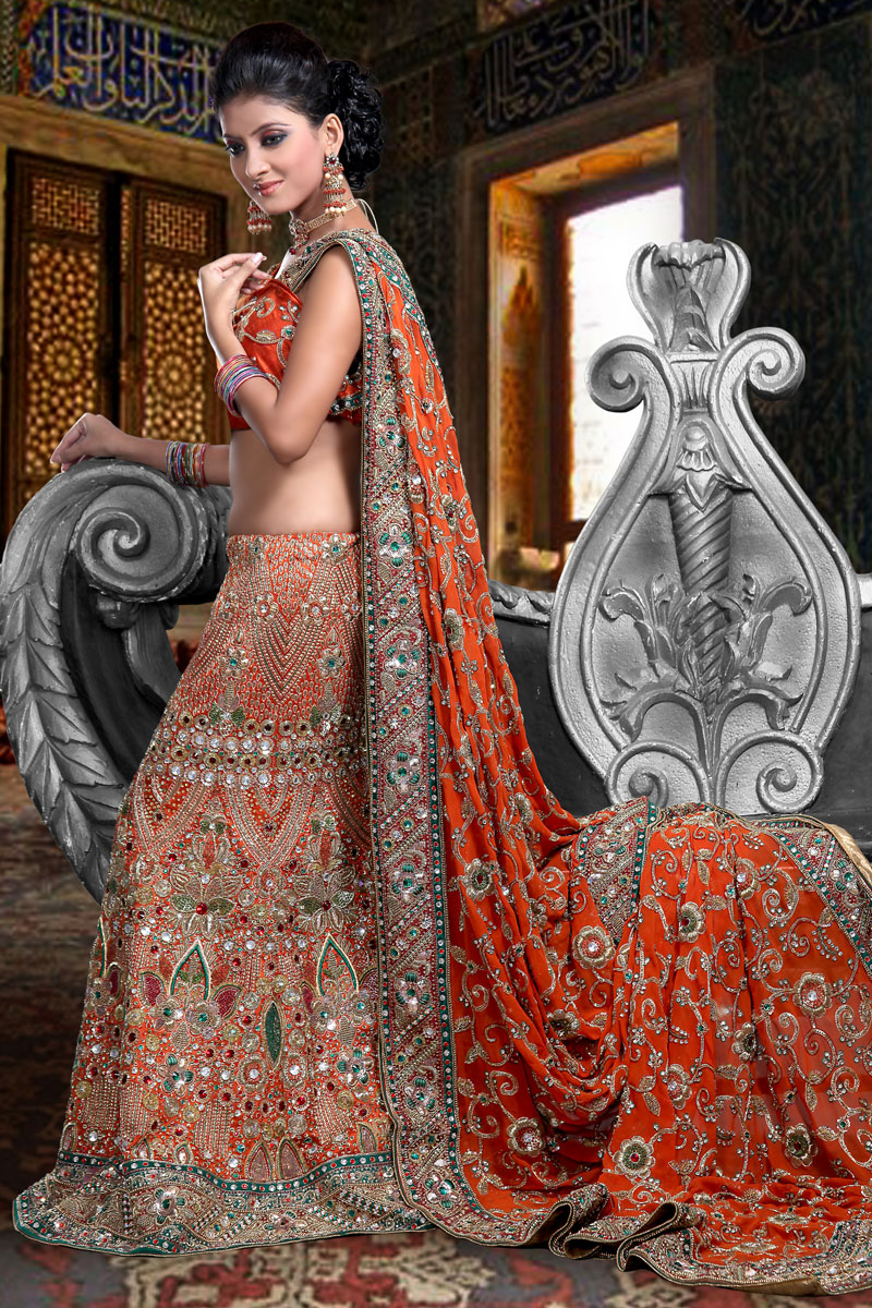 Bridal lehenga fashion usa dresses for Indian wedding dresses usa