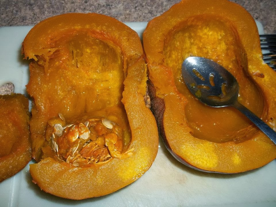 how to cook fresh pumpkin seeds in the oven