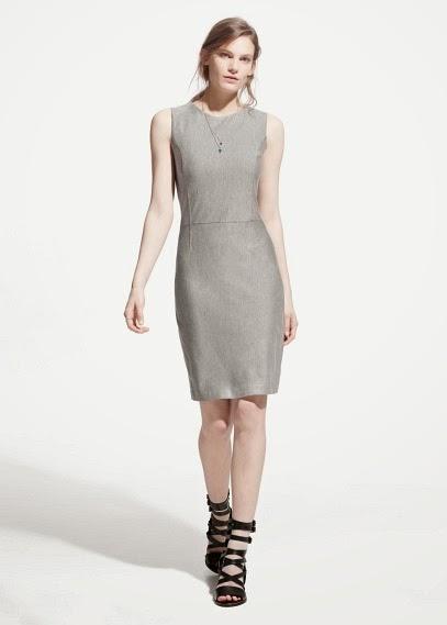 Mango 2015 Elbise Modelleri  gümüş renkli, kısa mango elbise, iş ve günlük elbise
