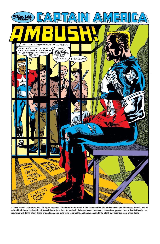 Captain America (1968) Issue #346 #276 - English 2