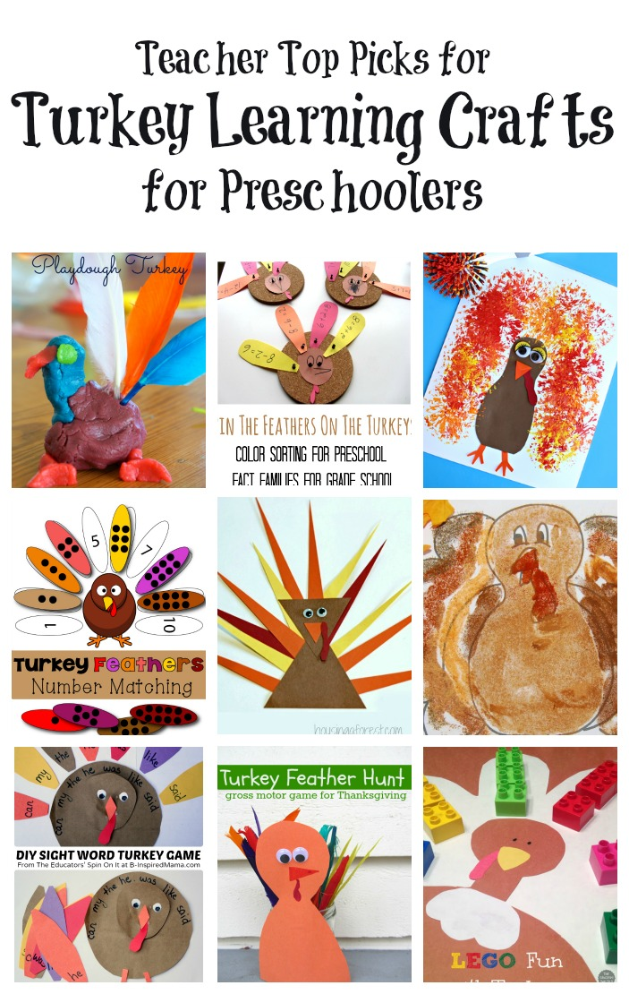 The educators 39 spin on it turkey activities for preschool for Thanksgiving preschool activities and crafts