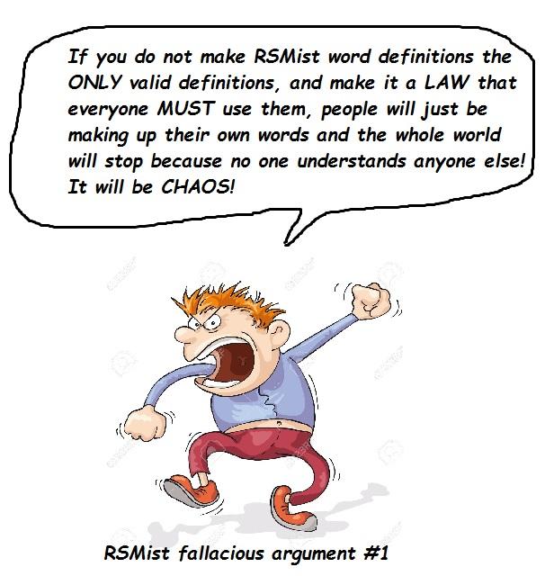 fallacious argument #1
