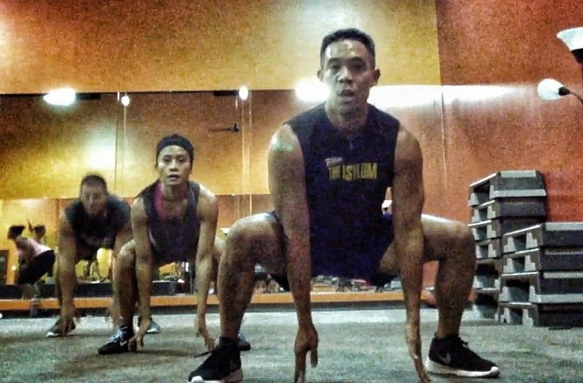 Live Insanity Workout - Rotational Jumps