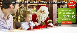 Verrueckter Mittwoch Angebot Weihnachten Center Parcs