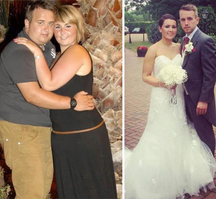 Before And After Photos Of Couples Losing Weight Together