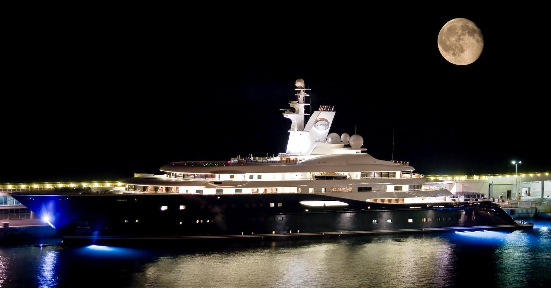 Mega Yacht Al Mirqab