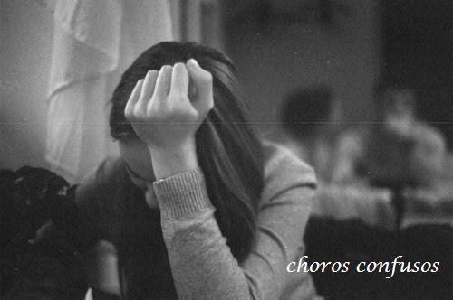 Lágrimas e pensamentos