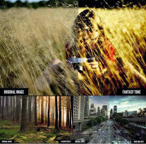 Graphics Cinema Effects Photoshop Actions Pack