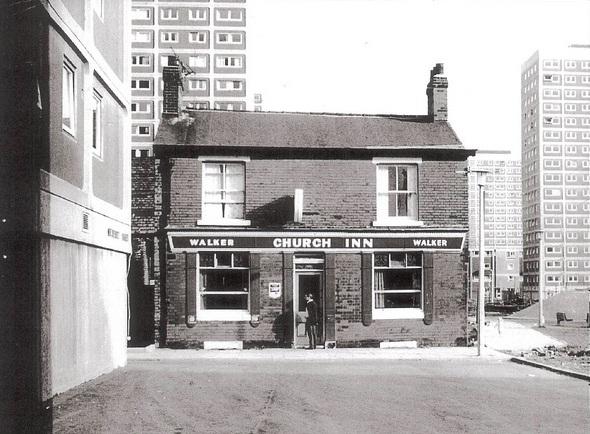 pubs of manchester  church inn  albert street    mulberry road