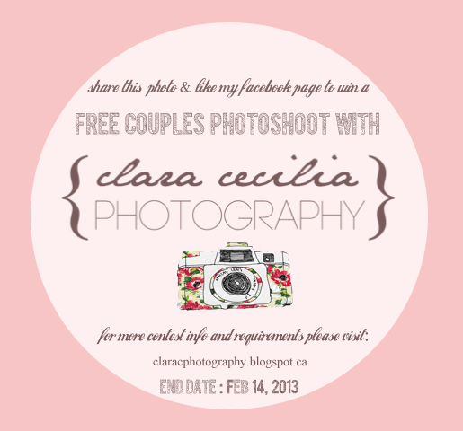 Clara Cecilia Photography: Valentines Day Giveaway