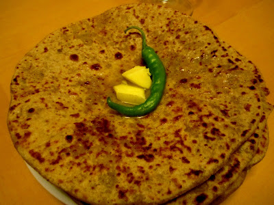 Stuffed Cabbage Paratha