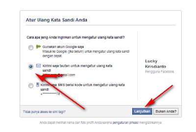 Membuka akun facebbok sebab lupa kata kunci Cara Membuka Akun Facebook Karena Lupa Password