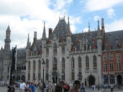 Centro de la ciudad de Brujas. Patrimonio de la Humanidad