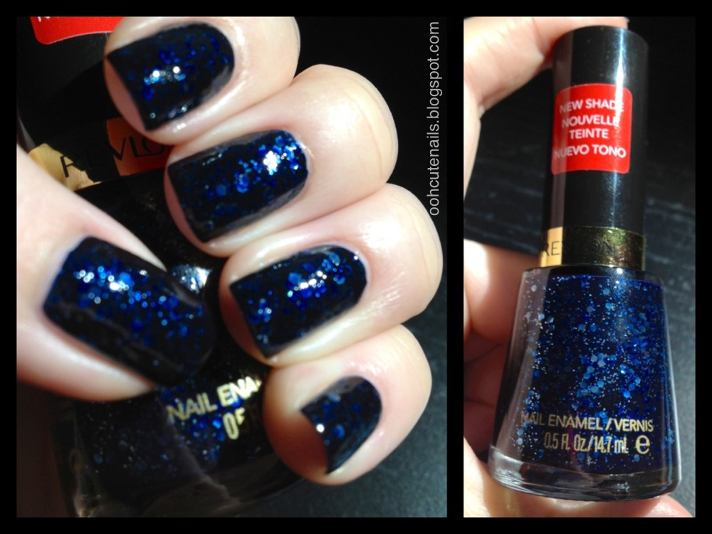 Ooh, Cute Nails!: Revlon Midnight Sparkle
