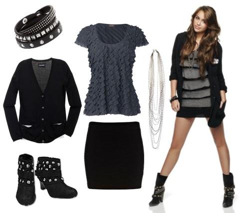 La Guu00eda De La Moda  Miley Cyrus Te Enseu00f1a 2 Looks Para Cada Concierto