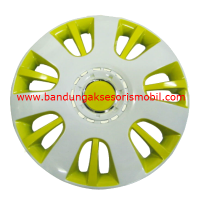 Dop Roda White+Yellow WJ-5065 (15)