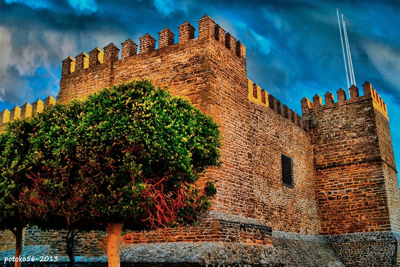 Castillo de Luna en Rota Cadiz HDR