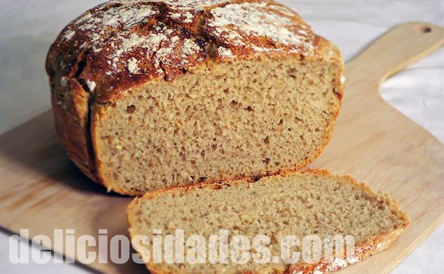 deliciosidades - Pan de trigo y avena con brotgewürz