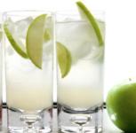 coctel sense alcohol green apple sparkler
