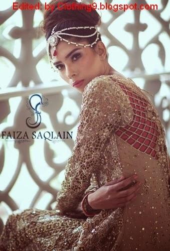 Faiza-Saqlain Latest Formal Dresses