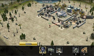 Screenshots of the Call of duty: Heroes for Android tablet, phone.
