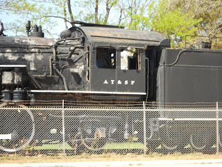 at&sf steam locomotive