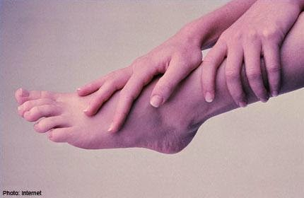 The three '-pathies': sensory neuropathy, where you become very numb; autonomic neuropathy, where you have decreased moisture and decreased hair; and motor neuropathy, where the muscles of the foot shrink