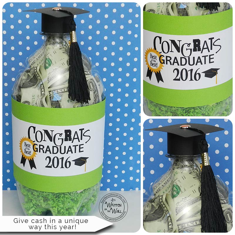 Graduates LOVE getting CASH-Wrap it up in a Unique Way