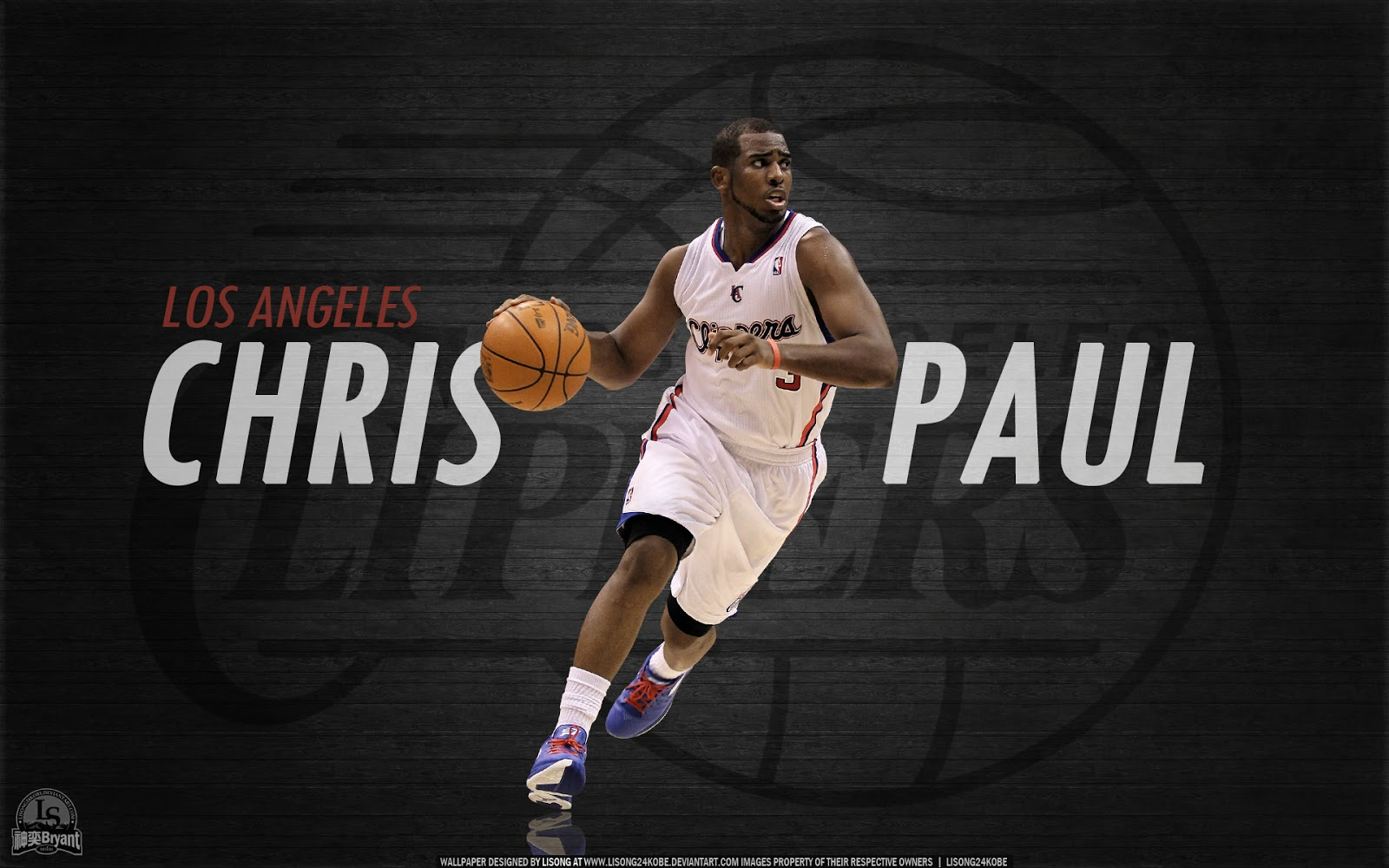 chris paul wallpapers los angeles clippers sportwallpapers