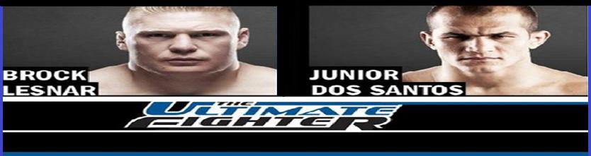 Lesnar vs Dos Santos
