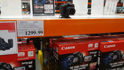 Costco Canon EOS 70D DSLR Camera Bundle 900476
